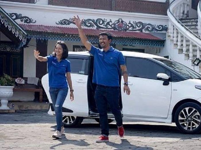 Rio Dewanto ditemani Prisia Nasution untuk menaklukkan tantangan