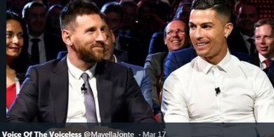 Cristiano Ronaldo dan Lionel Messi Diminta Tiru 1 Hal dari Bintang Man United