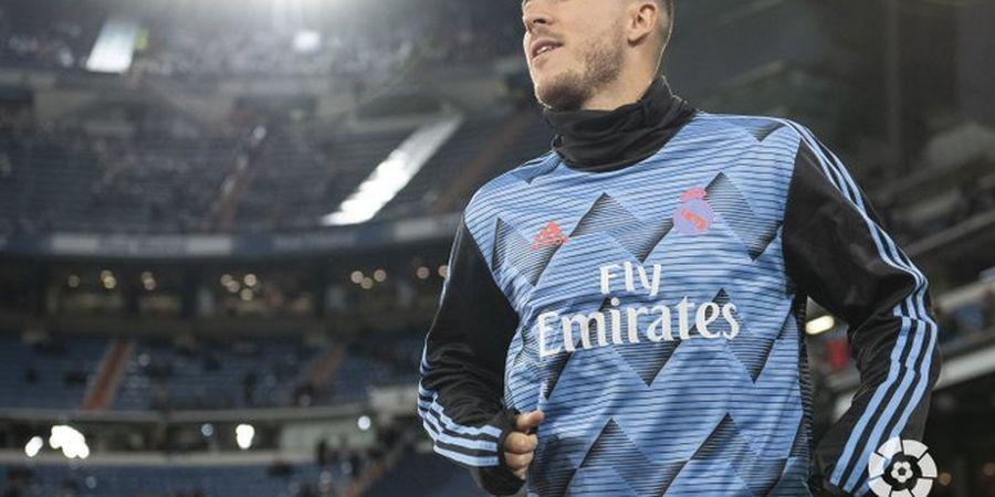 Gabung Real Madrid, Eden Hazard Berubah Jadi Penyakitan