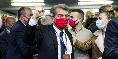 Menang Telak, Joan Laporta Resmi Jadi Presiden Baru Barcelona
