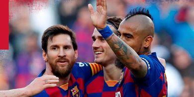 Hasil Lengkap dan Klasemen Liga Spanyol - Kemenangan Besar Buat Barcelona Ungguli Real Madrid