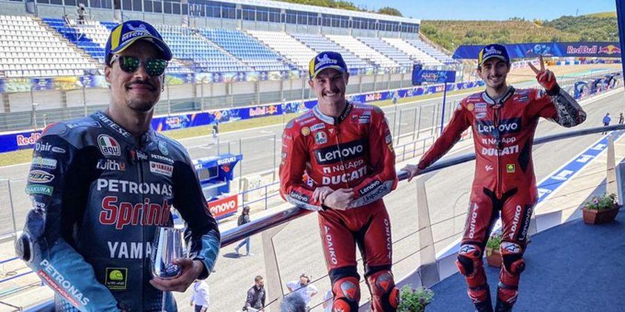 Murid Valentino Rossi Beri Ducati Inspirasi Putus Tren Buruk 15 Tahun pada MotoGP Spanyol