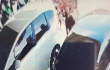 Masuk CCTV, Mobil Parkir Di Rumah Sakit Kebobolan, Ratusan Juta Raib
