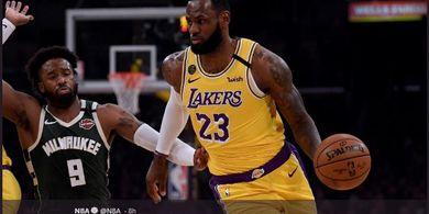 LeBron James Tolak Wacana NBA Gelar Pertandingan Tanpa Penonton