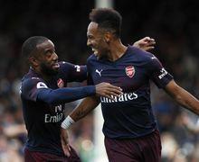 Pierre-Emerick Aubameyang Dapat Perlakuan Pahit dari Fan Tottenham saat Rayakan Gol