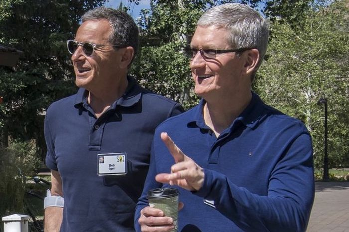 CEO Disney Tidak Khawatir Meski Apple TV+ Lebih Murah Dari Disney+