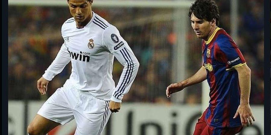 Cristiano Ronaldo Terlalu Sombong untuk Menjadi Sehebat Lionel Messi