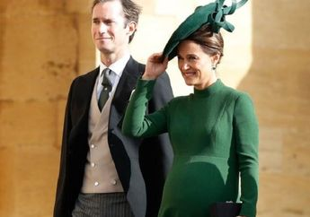 Selamat! Adik Kate Middleton, Pippa Middleton Melahirkan Bayi Pertama, ini Jenis Kelaminnya