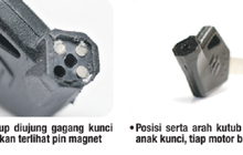 Dibenci Maling Motor, Secure Key Shutter Ada di Kunci Kontak Motor Sekarang