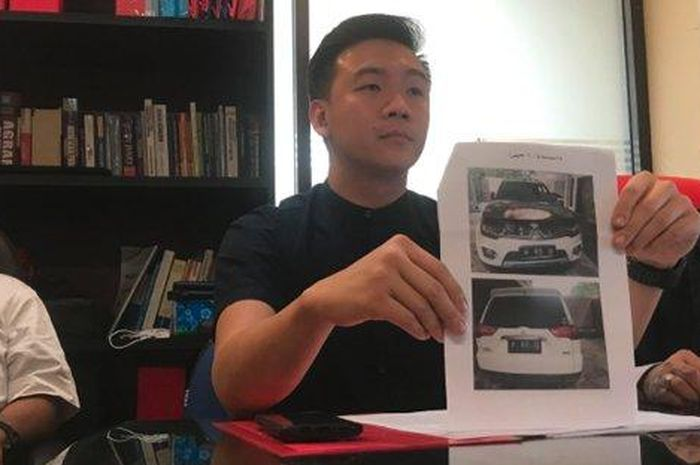 Pemilk Mitsubishi Pajero Sport gugat Mitsubishi atas kasus terbakarnya mobilnya