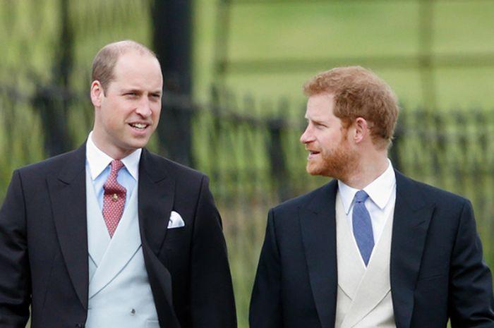 Perbedaan Pangeran William & Harry saat Pamer Kemesraan dengan Pasangan di Depan Publik