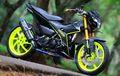 Suzuki Satria F150 Ganti Kaki Motor Sport, Biaya Modifnya Setara Mobil LCGC