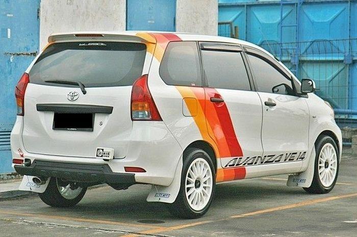 Toyota Avanza adopsi gaya rally look