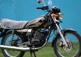 Ban Belakang Motor Yamaha RX King Goyang Inul?  Begini Cara Meredamnya