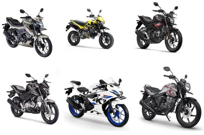 Daftar harga motor sport di bawah Rp 30 jutaan.