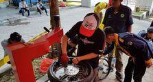 Ban Motor Dipakai Kontes Mobil Hemat Energi di Padang