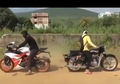 Video Adu Tarik Motor Sport Tua Lawan Muda, Pemenangnya Tidak Disangka