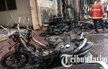 Malang Geger Kebakaran di Gang, Akibat Puntung Rokok Saat Isi Bensin Motor
