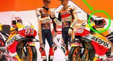 Penampakan Aneh di Helm Jorge Lorenzo, Pas Launching Tim Repsol Honda