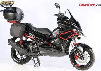 Tak Disangka, Basis Motor Yamaha Aerox Bisa Jadi Motor Touring Garang