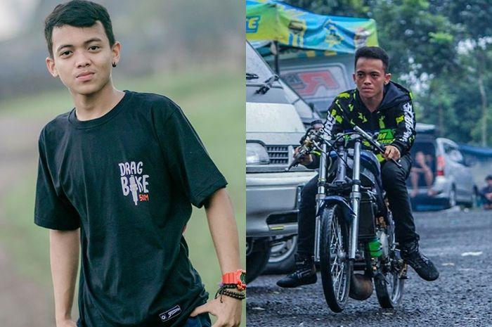 Sulthan Ramadhan pembalap drag motor nasional