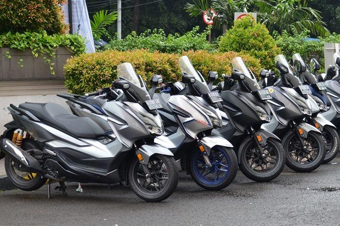 Deklarasi komunitas Honda Forza Indonesia