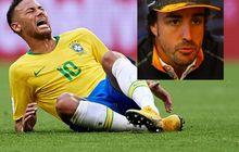 Nggak Terima Dibilang Kayak Neymar, Alonso Ngebales Menohok Banget