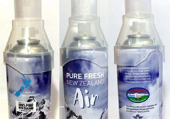 Udara Segar New Zealand Dijual dalam Bentuk Kalengan, Harganya Rp1,4 Juta