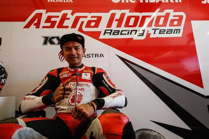 Dimas Ekky Pratama akan berlaga di Moto2 2019