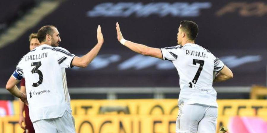 Bahas Kepergian Ronaldo, Chiellini: Harusnya Dia Pergi Lebih Awal