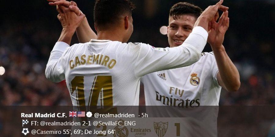 Temannya Positif Covid-19, Striker Real Madrid Jalani Isolasi Mandiri