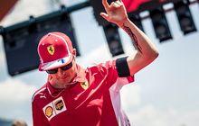 Kalem, Kimi Raikkonen Didepak Ferrari, Sudah Ada Tim Yang Nampung
