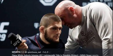 Khabib Racik Duel Panas untuk Jagoan UFC yang Menang dengan Wajah Terkoyak