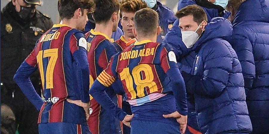 Misteri Status Lionel Messi Jelang Final Piala Super Spanyol