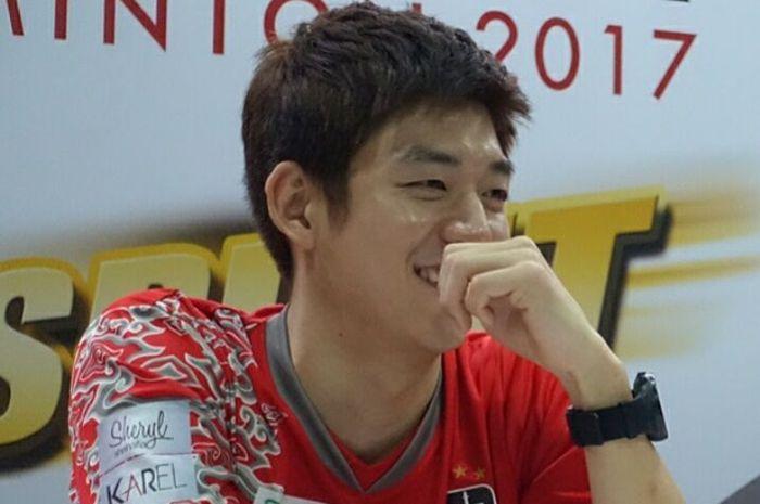 Anak Lee Yong Dae yang menggemaskan