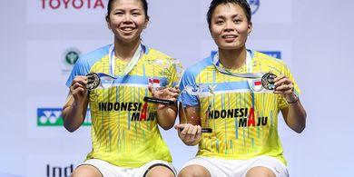 Update Peringkat World Tour - Greysia/Apriyani Puncaki Ganda Putri Usai Juara