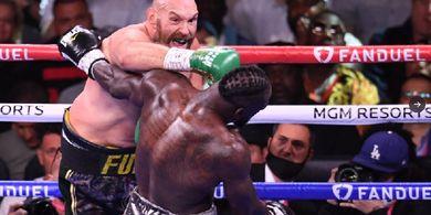 Tyson Fury vs Deontay Wilder 3 Bukan Tontonan Bagus, Korban Tidak Pandai Bertinju