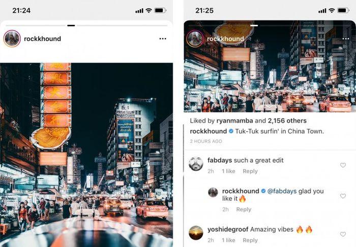 Instagram Akan Mengubah Metode Scroll Timeline Menjadi Geser ke Samping, Gimana Menurutmu?