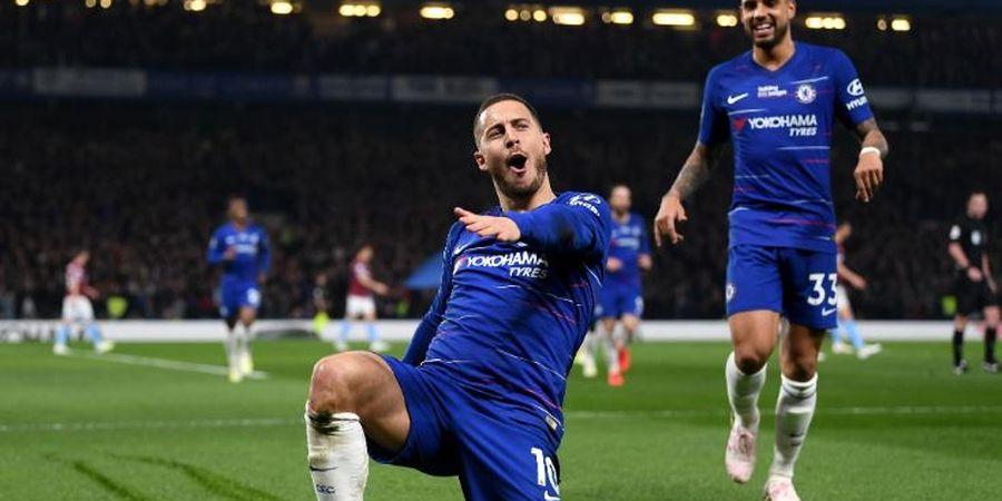 Tanpa Hazard, Chelsea Masih Lebih Tangguh daripada Manchester United