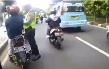 Hebat! Video Trik Lolos dari Razia, Cuma Tunjukin Ini ke Polisi Tanpa Perlu Banting Motor