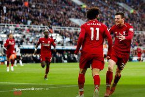 Hasil Babak I Liverpool vs Burnley - Bek Sayap Cetak Gol, Mo Salah Bikin Kiper Lawan Terbang