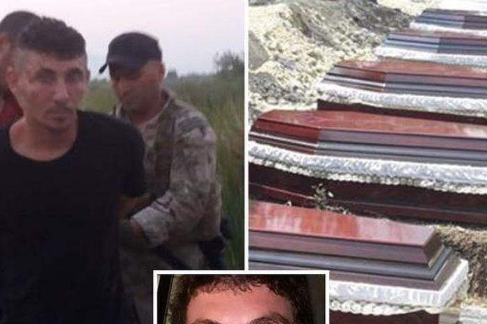 Pria ini tega membunuh 8 anggota keluarganya hanya karena kesal dituduh mencuri kalkun.