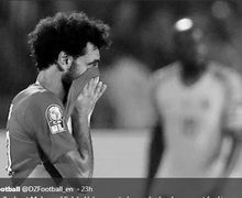 Sempat Menangis, Mohamed Salah Mengaku Terpukul atas Kegagalan Mesir di Piala Afrika