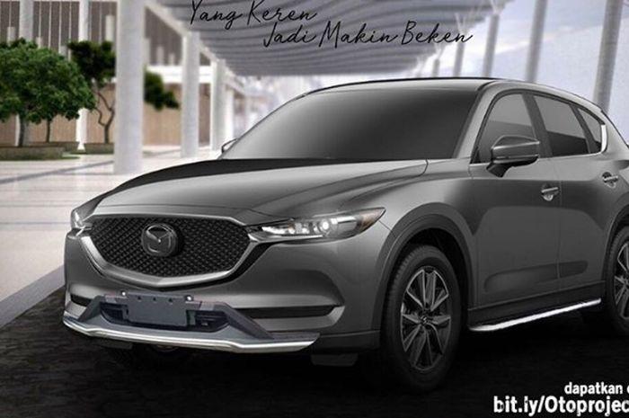 Modifikasi Mazda CX-5 dengan gaya simpel