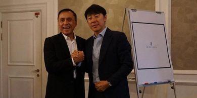 PSSI Sudah Terima Roadmap Terbaru dari Shin Tae-yong