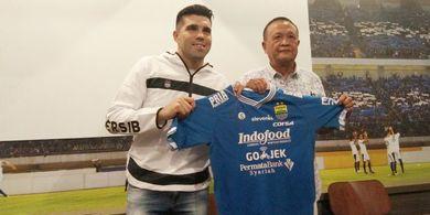 Persib Bandung Datangkan Fabiano Beltrame, Durasi Kontrak 1 Tahun