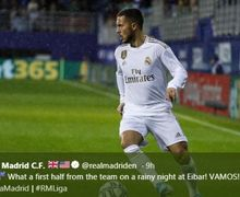 Link Live Streaming Getafe Vs Real Madrid Liga Spanyol, Hazard Absen Lagi?