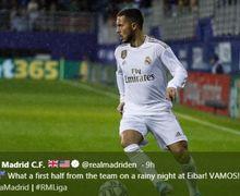Link Live Streaming Getafe Vs Real Madrid Liga Spanyol, Hazard Absen Lagi?