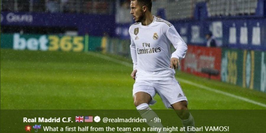 Tampil 73 Menit, Eden Hazard Merasa Senang, tetapi...