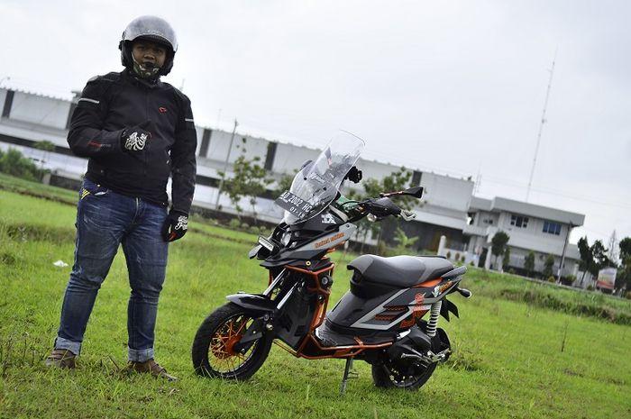 "Yamaha X-Ride 2015 X-SYS Asal Klaten ""Ini modifikasi karya pelajar SMA"""